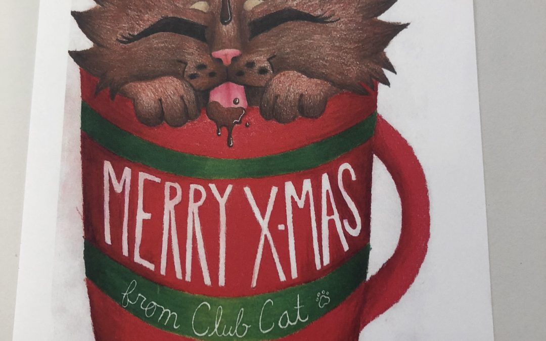 Club Cat's First Christmas!