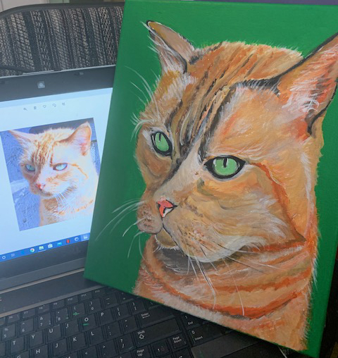 How to artfully immortalize your cat