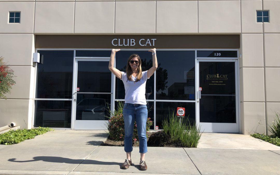 I became my own Club Cat Customer